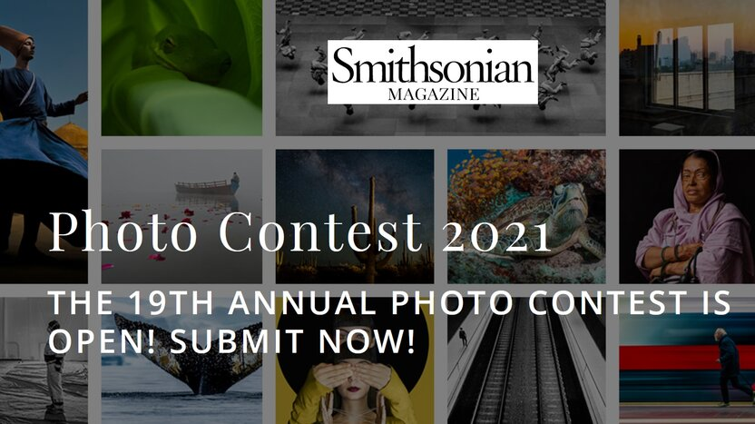 Smithsonian magazine 19th Annual Photo Contest:  Smithsonian Xalqaro Fotolar tanlovi hamda $2500 dollar yutish imkoniyati