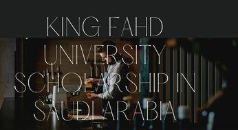 The Deanship of Graduate Studies:  Saudiya Arabistonida o'qish uchun to'liq grant dasturi