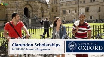 Clarendon Scholarship 2022 in UK | Fully Funded: Buyuk Britaniyada magistratura va doktorontura bosqichlari uchun -100% gacha grantlar