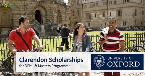 Clarendon Scholarship 2022 in UK   Fully Funded: Buyuk Britaniyada magistratura va doktorontura bosqichlari uchun -100% gacha grantlar