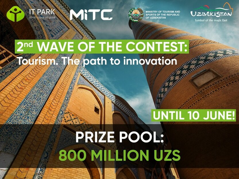 O'zbekiston: Mukofot jamg'armasi 800 million so'm bo'lgan Tourism. The Path to innovation tanlovi e'lon qilindi!
