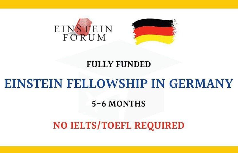 The Einstein Fellowship 2022:  Yosh olimlar uchun 10 000 yevrolik stipendiya va safar xarajatlarini moliyalashtiradigan dastur
