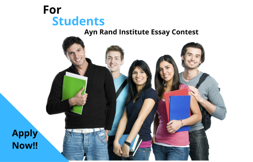 Ayn Rand Institute essay contest: Ayn Rand Institute essay contest da o'z inshoyinggiz bilan ishtirok eting va $2000 AQSH dollar yutib oling!