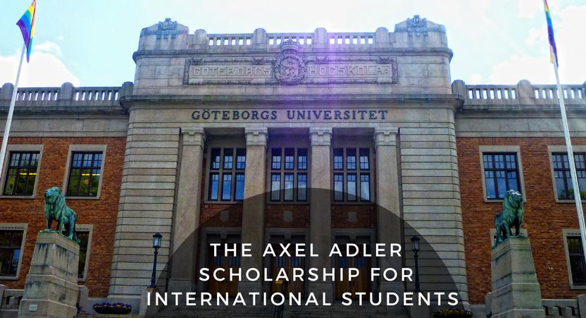 Shvetsiyada University of Gothenburg'da ta'lim olish uchun stipendiya