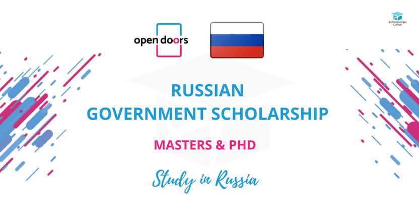 To'liq moliyalashtirilgan Rossiyada Magistratura va PhD bosqichlarini o'qish imkoniyati