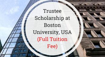 AQSh: Boston universitetida bakalavr bosqichi uchun stipendiya