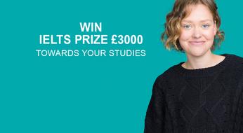 ПРИЗ IELTS - шанс выиграть 3000 фунтов стерлингов для кандидатов IELTS от Британского Совета.