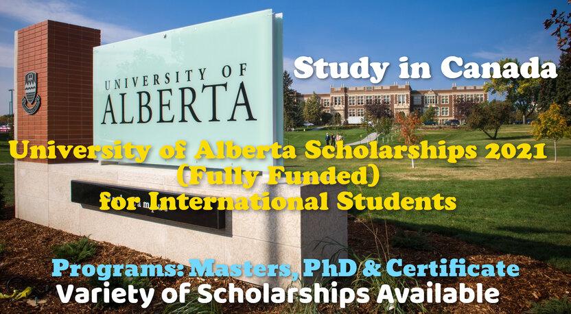 University of Alberta Scholarship: Kanadada Bakalavriat, Magistratura hamda Doktorantura bosqichlari uchun to'liq grantlar