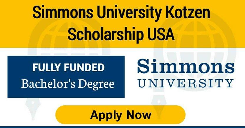 Kotzen Scholars Program at Simon university:  Barcha xarajatlar qoplanuvchi Kotzen Grant dasturi